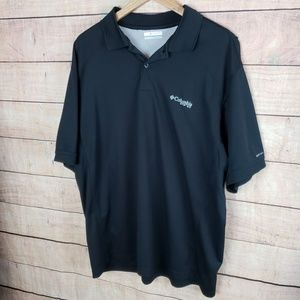Columbia PFG Polo Shirt Performance Fishing Gear